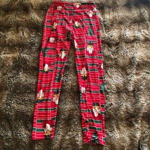 LuLaRoe Christmas leggings OS
